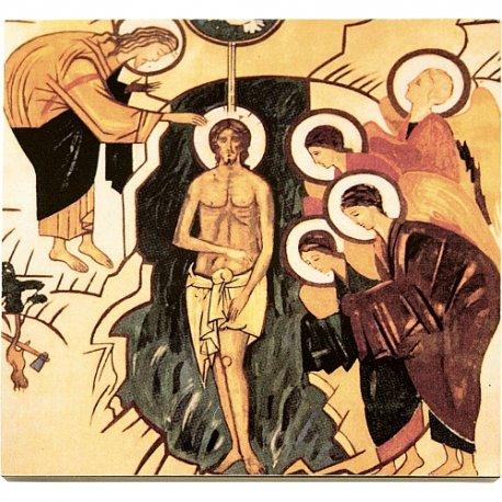 Icono Bautismo del Señor