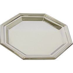 Plato octogonal