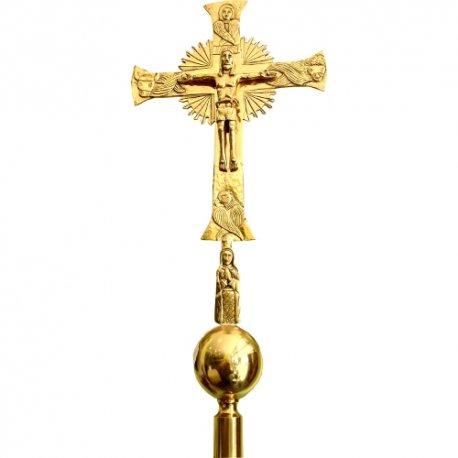 Cruz alzada o procesional, Gloriosa