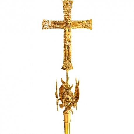 Cruz alzada o procesional, Merkaba