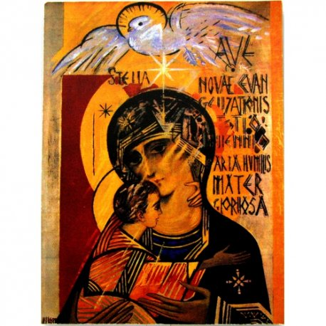 Icono Virgen del Tercer Milenio