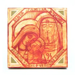 Icono de la Sagrada Familia 94 con marco